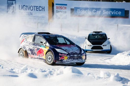 Rally X on Ice - Höljes